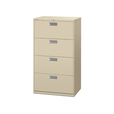 HON 600 Series 4-Drawer  File
