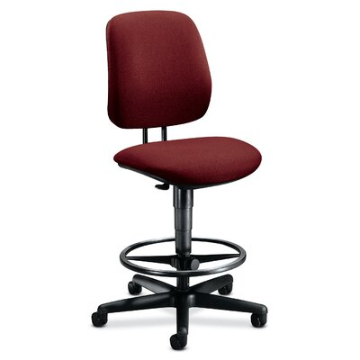 HON Height Adjustable Task Stool with Adjustable Footring