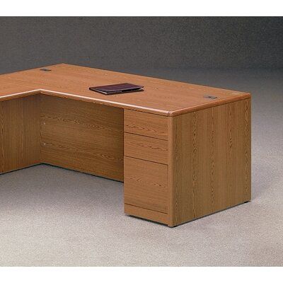 "HON 10700 Series 72"" W Right Pedestal Executive Desk"