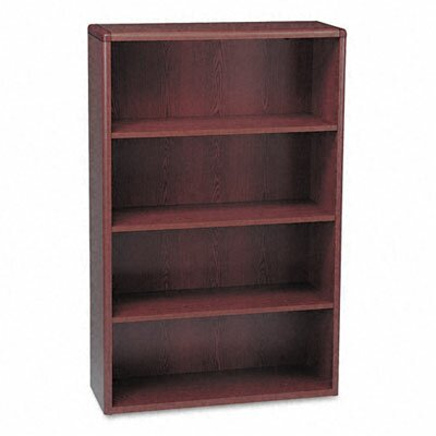 HON 10703 Series Bookcase, 4 Shelves