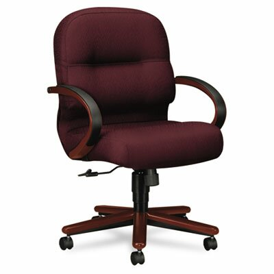2190 Pillow-Soft Wood Series Mid-Back Chair