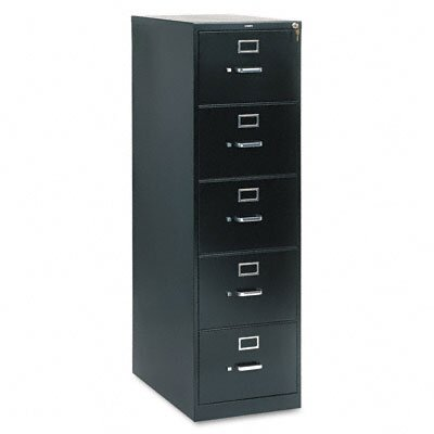 HON 310 Series Five-Drawer Legal Vertical File