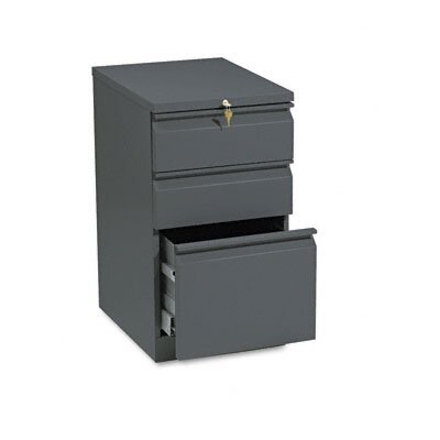 HON Efficiencies Mobile Pedestal File with One File/Two Box Drawers