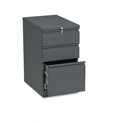 HON Efficiencies Mobile Pedestal File w/One File/Two Box Drawers, 22-7/8d, CCY