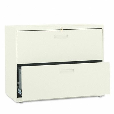 HON 500 Series Two-Drawer Lateral File, 36W X28-3/8H X19-1/4D