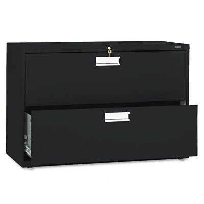 "HON 600 Series 42"" W Two-Drawer Lateral File"