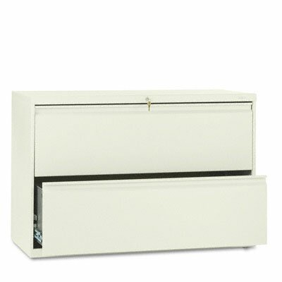 HON 800 Series Two-Drawer Lateral File, 42W X 19-1/4D X 28-3/8H