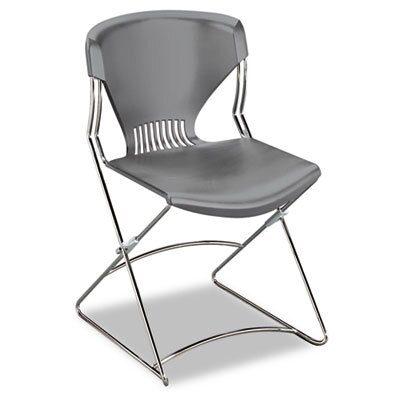 HON Olson Flex Stacker Chair, Silver Gray, Four/Carton