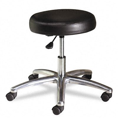 "HON 22"" Height Adjustable Stool with Polished Base"