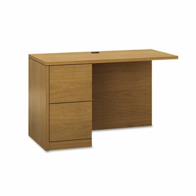 "HON 10500 Series ""L"" Workstation 48"" W x 29"" D Full-Height Pedestal Desk Return"
