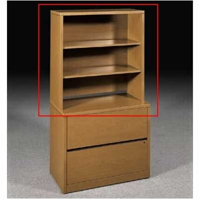 "HON 10500 Series 37"" H Bookcase Hutch"