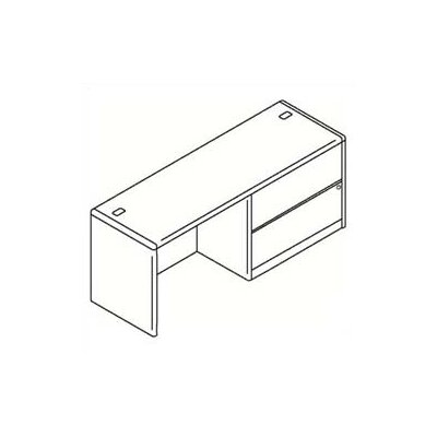 HON 10700 Series 2-Drawer  File