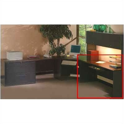 "HON 38000 Series 30"" Deep Executive Desk Shell"