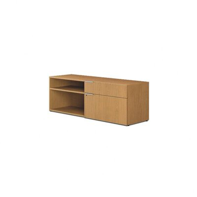 "HON Voi 60"" Low Credenza Box / File with Stack-On Storage (Right Drawer)"