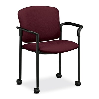 HON Mobile Stacking Guest Arm Chair