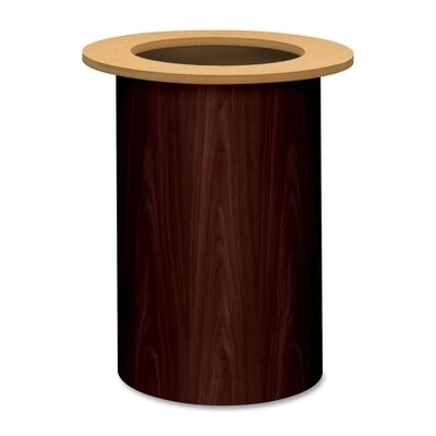 HON Preside Table Cylinder Base
