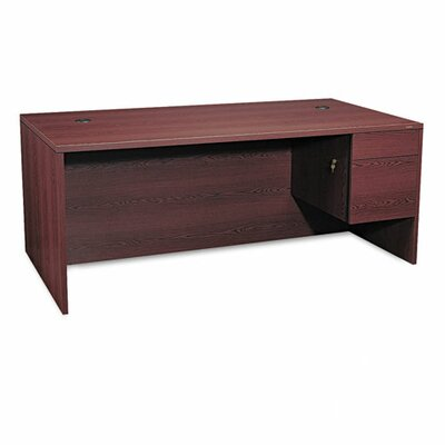 "HON 10500 Series 72"" W Double Pedestal Large Executive Desk"