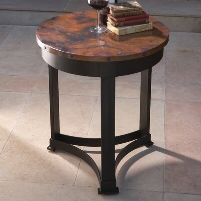 Classic Copper End Table