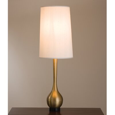 "Global Views Bulb Vase Interior 50.5"" H Table Lamp with Empire Shade"