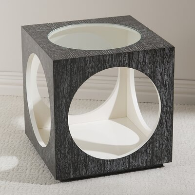 Global Views Charmed End Table