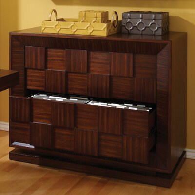 Global Views Block Lateral File Cabinet