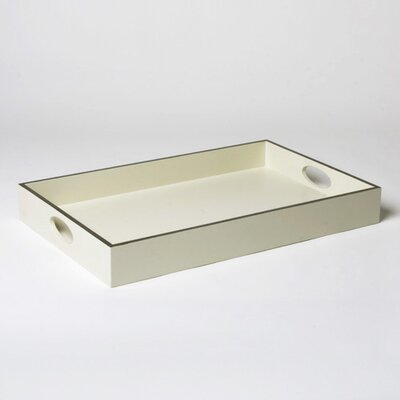 Global Views Silver Framed Tray