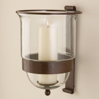 Hurricane Wall Sconce Candle Holder : DanyaB Puzzle Wall Candle Holder & Reviews Wayfair