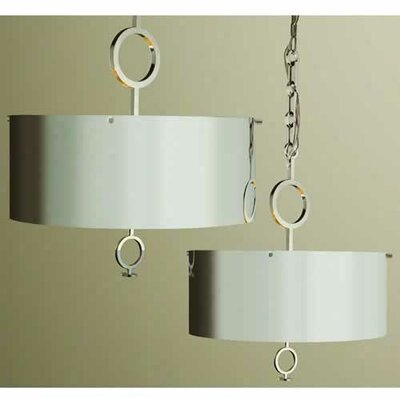 O 4 Light Drum Pendant Chandelier