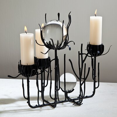 Global Views Thistle Candle Holder