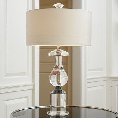 Global Views Classic Bulb Crystal 1 Light Table Lamp