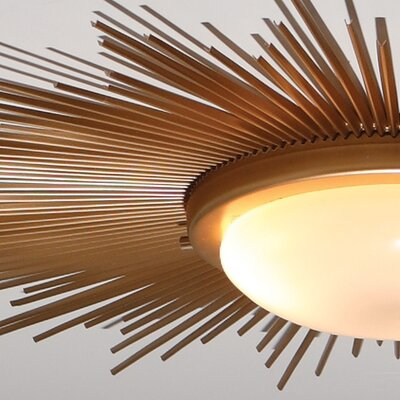 Global Views Sunburst 2 Light Fixture
