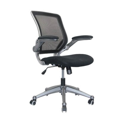 Manhattan Comfort Versatile Mid-Back Mesh Optimum Office Chair with Casters
