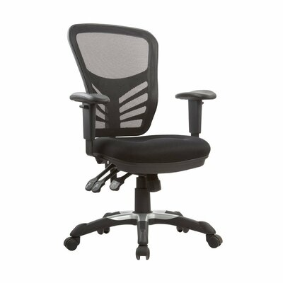Manhattan Comfort High-Back Mesh Executive Office Chair with Adjustable Height
