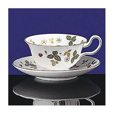 Wedgwood Wild Strawberry Peony Teacup