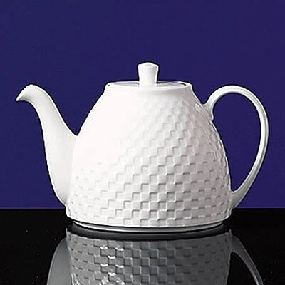 Night & Day Small Individual Checkerboard Teapot