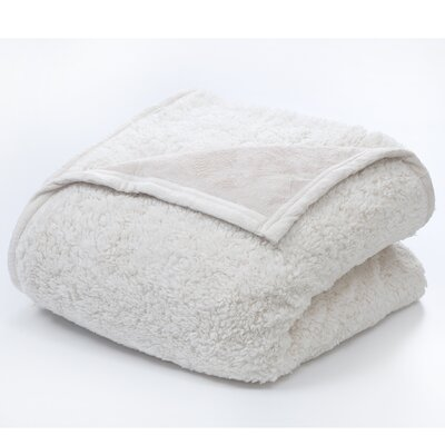 Vue by Ellery Sherpa Polyester Throw Blanket