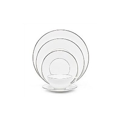 Jasper Conran Platinum Fine Bone China 5 Piece Place Setting