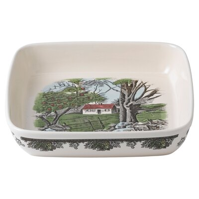 Friendly Village Square Baking Dish