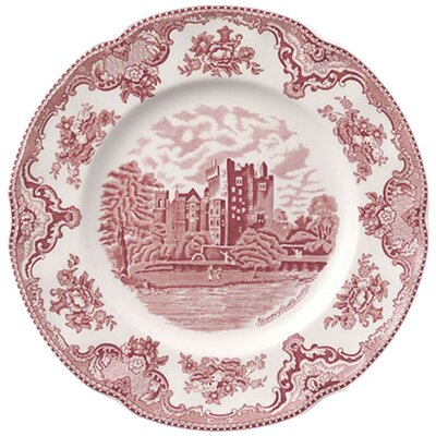<strong>Johnson Brothers</strong> Old Britain Castles Pink Dinner Plate
