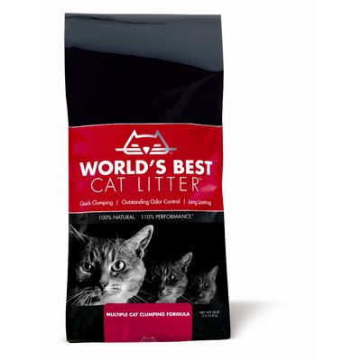 World's Best Cat Litter Multi-Cat Formula Clumping Litter (28 lbs)