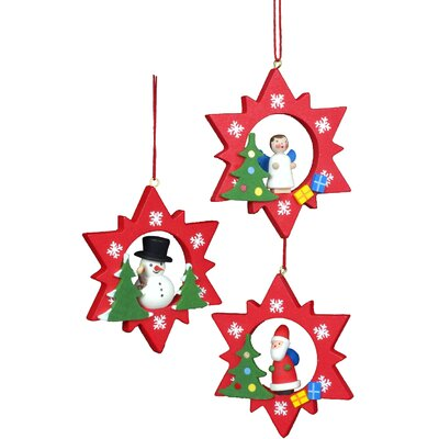 Christian Ulbricht Assorted Stars Ornament (Set of 6)