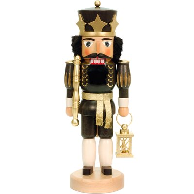 King with Crown and Lantern Nutcracker
