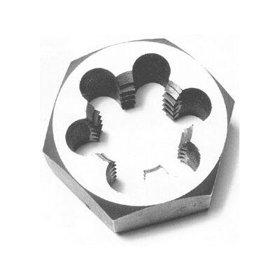 Qualtech Carbon Steel Hex Die 8 Pitch