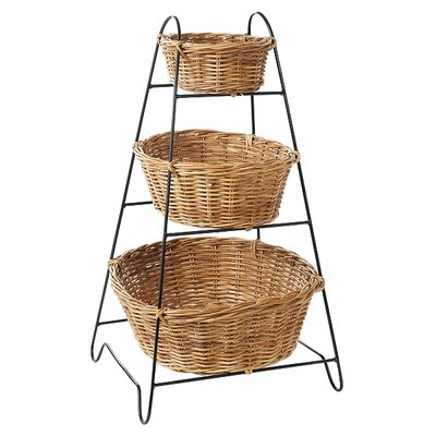 Eco Displayware Eco-Friendly 3 Tier Display Rack