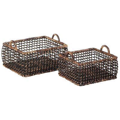 Eco Displayware Eco-Friendly Rectangular Small Basket