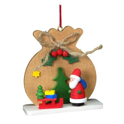 Alexander Taron Christian Ulbricht Brown Sack with Santa Ornament