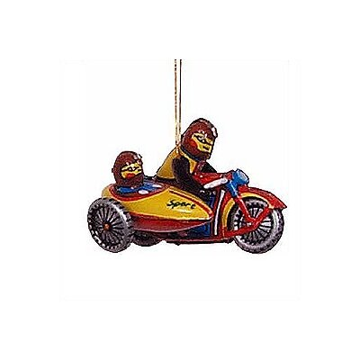 Alexander Taron Tin Motorcycle Ornament