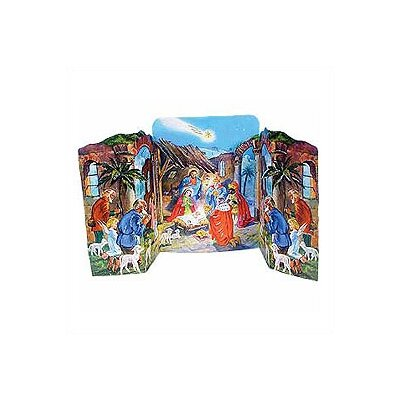 Alexander Taron Standing Nativity Advent Calendar