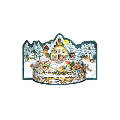 Alexander Taron Christmas Village Advent Calendar