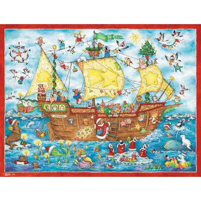 Alexander Taron Sailing Ship Advent Calendar
